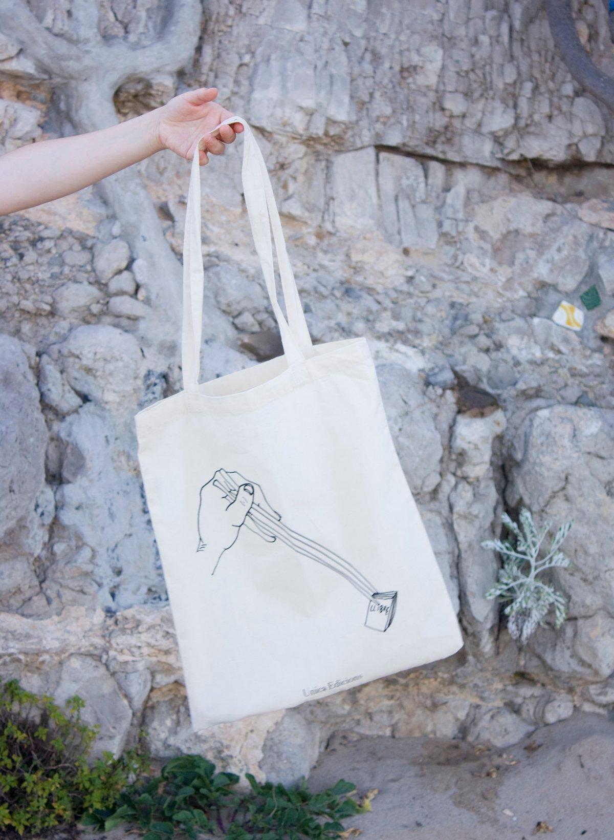 "Image of ""Sushi Book"" Tote Bag"