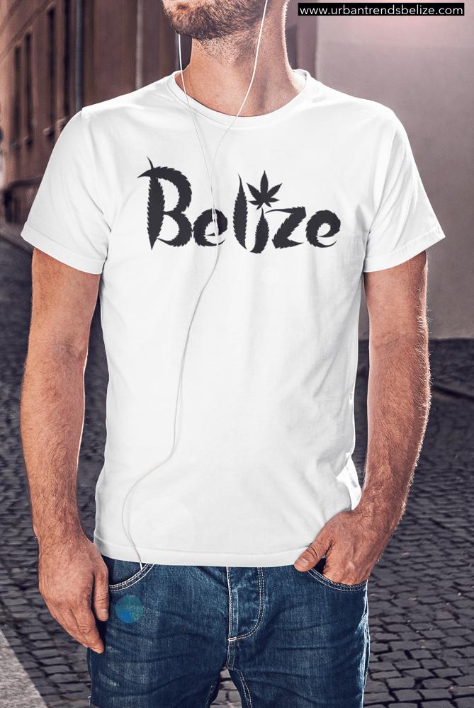 Image of BELIZE GANJA LEAF T-SHIRT
