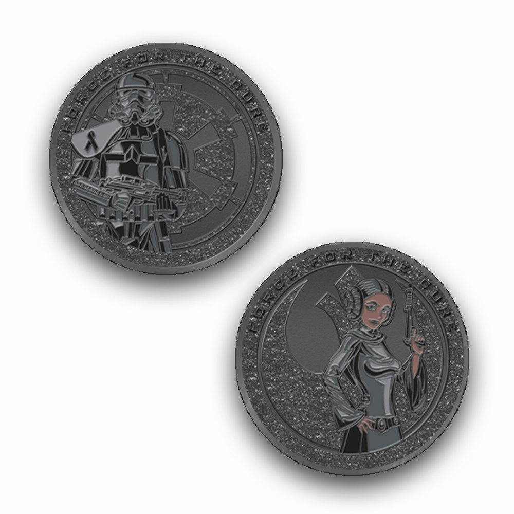 Image of Force For The Cures:  End Racism - Black Lives Matter Challenge Coin