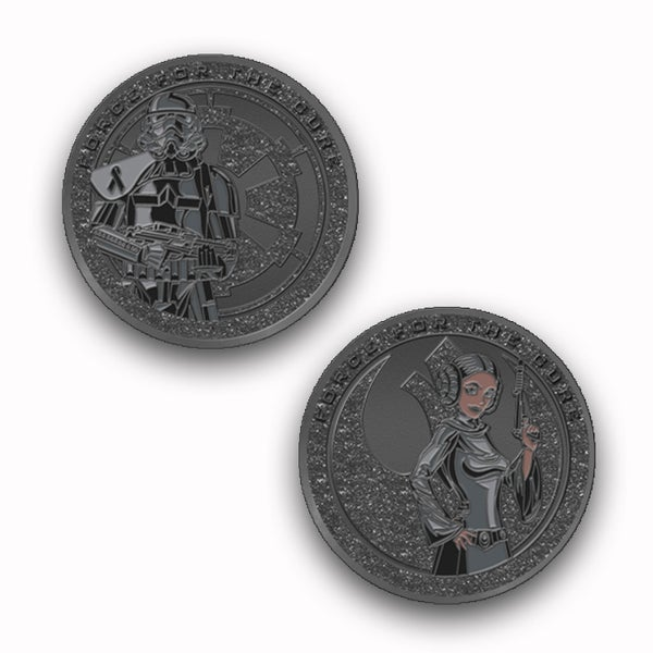 Image of Force For The Cure:  End Racism - Black Lives Matter Challenge Coin