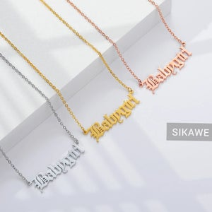Image of PERSONALISED NECKLACE-AALIYAH