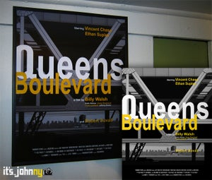 Image of Queens Blvd Entourage Poster - 16x20""