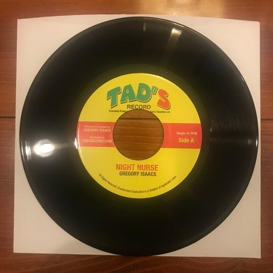 Image of Gregory Isaacs - Night Nurse Vinyl 7 Inch