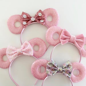Image of Blush Donut Mouse Ears