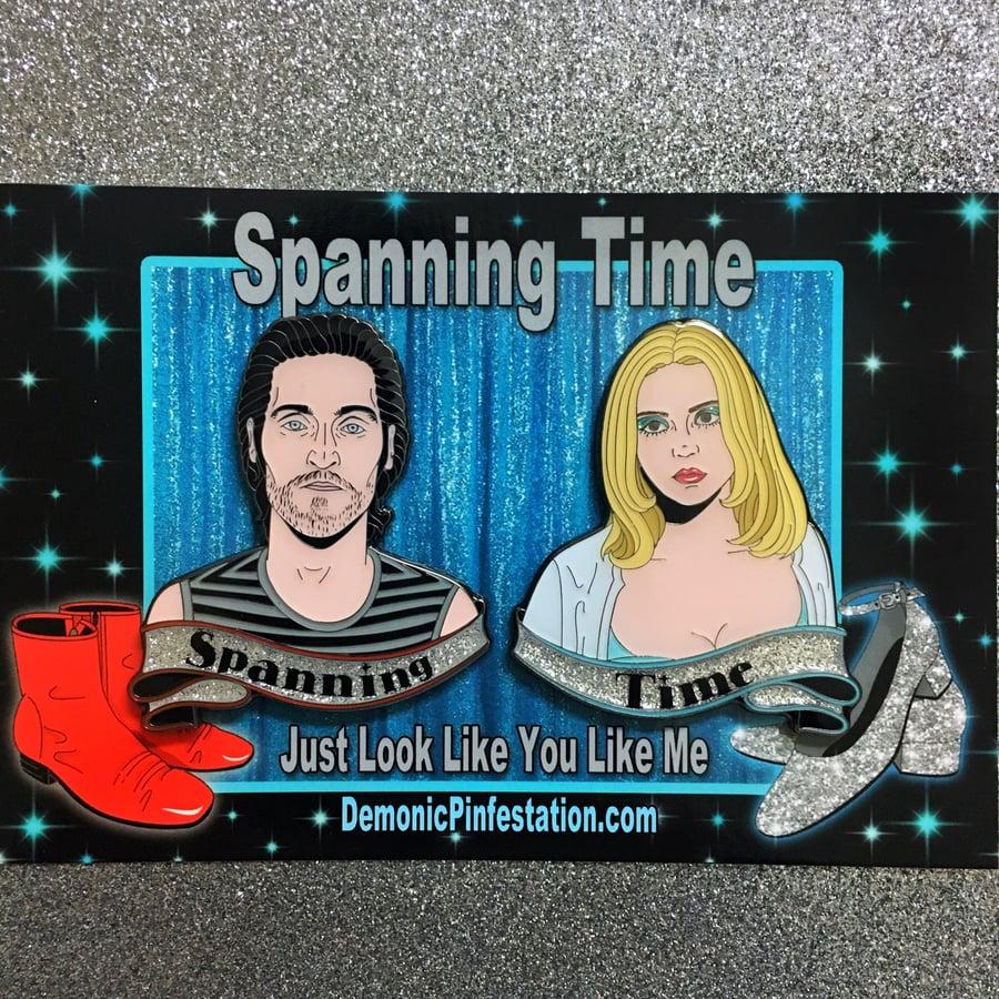 Image of Spanning Time pin set