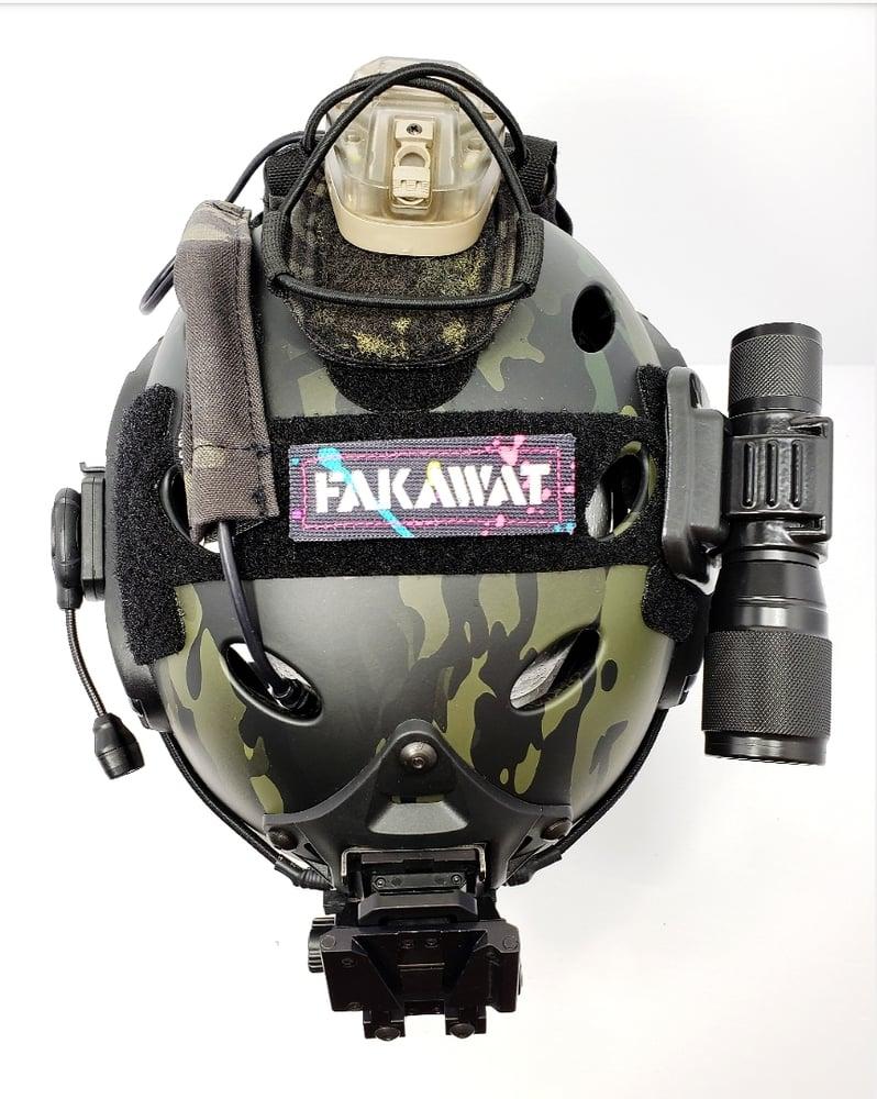 Image of Fakawat splatter paint reflective laser cut