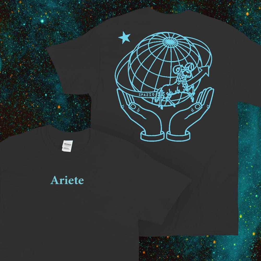 Image of Ariete: Spazio T-Shirt (nera)