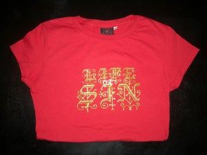 Image of LOGO TUNIC RED