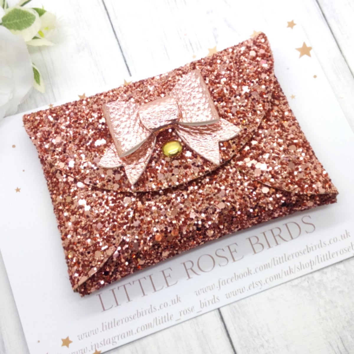 Image of Rose Gold Coin Purse