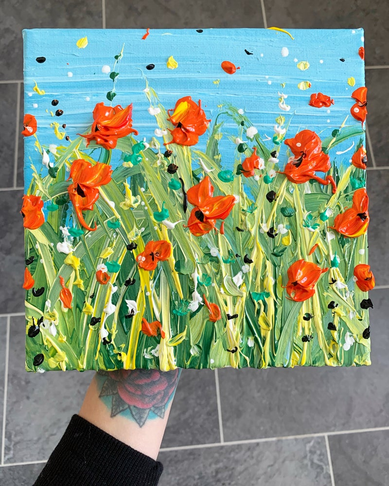 Image of Wiltshire Poppies
