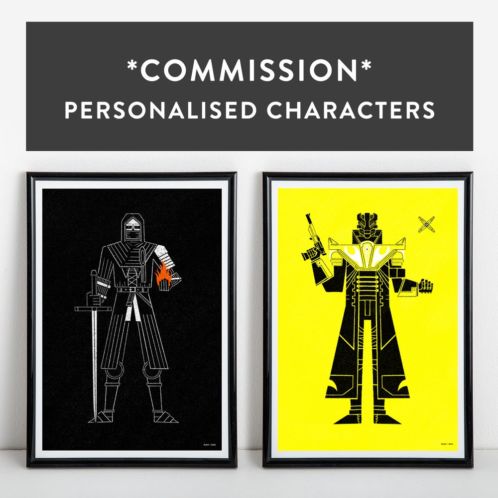 *COMMISSION* Personalised Characters