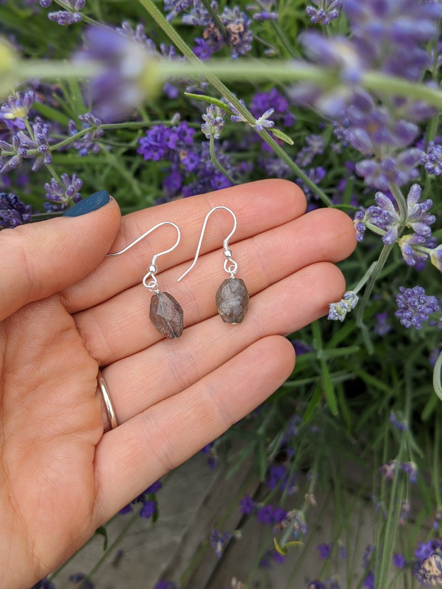 Image of Labradorite Drop Earrings