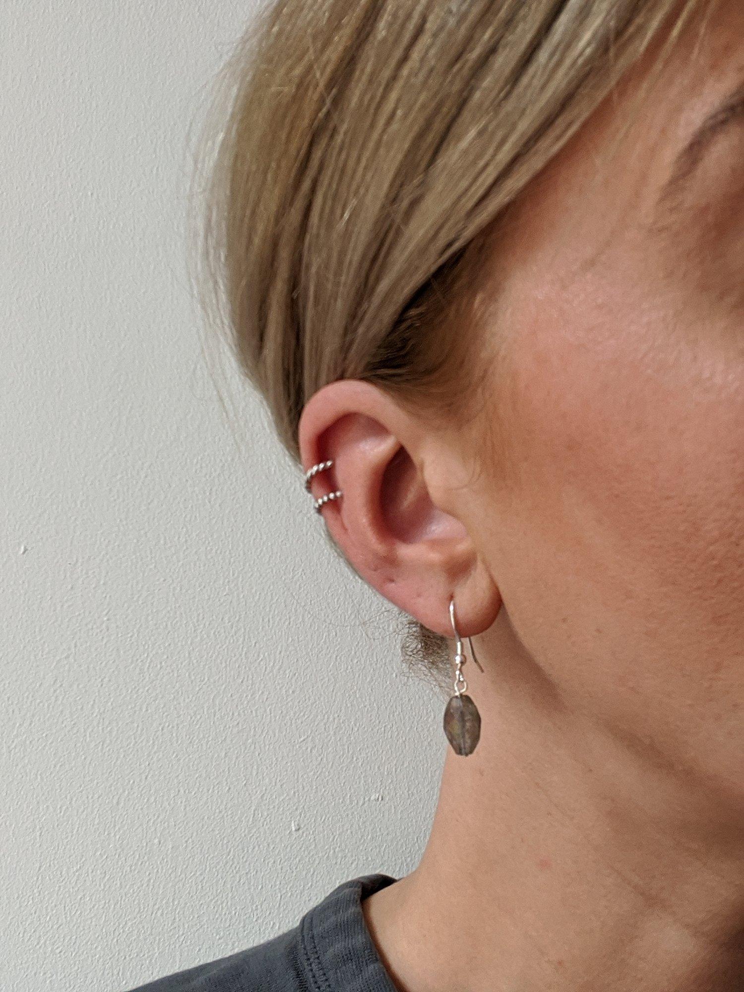 Image of Labradorite Drop Earrings