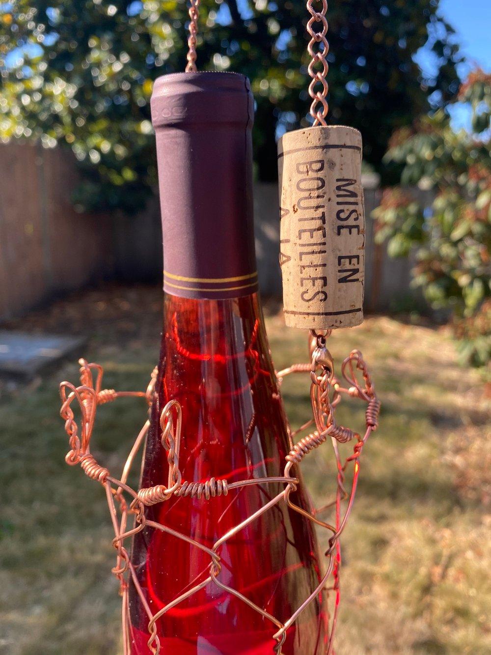 Copper Bottle Basket