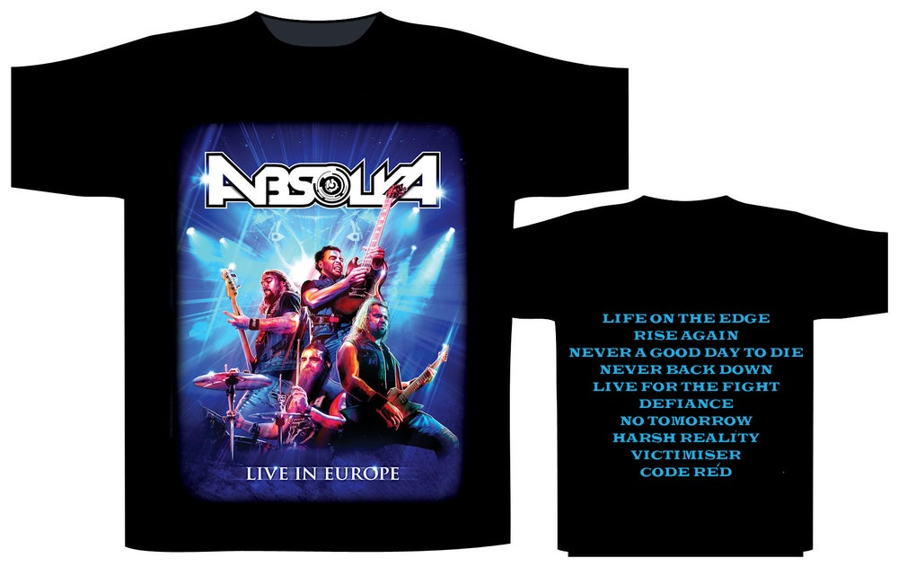 Absolva Live In Europe T-SHIRT