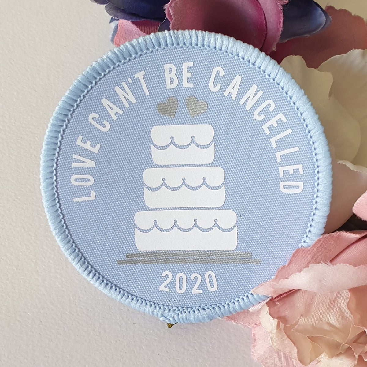 Lockdown wedding (love can't be cancelled) patch