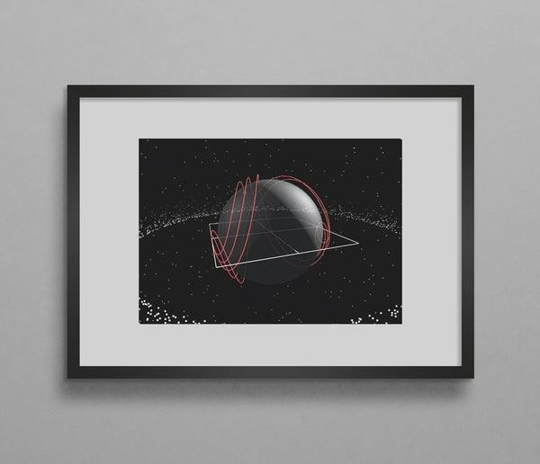 Image of Red Quasar #1