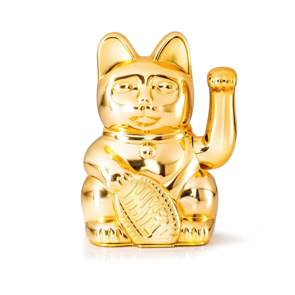 Image of LUCKY CAT GLOSSY GOLD, DONKEY