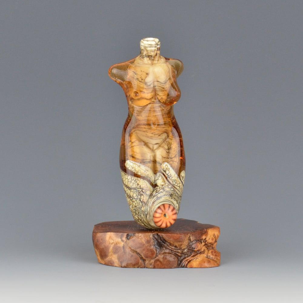 Image of XXL. Nectar Goddess - Flamework Glass Sculpture Bead