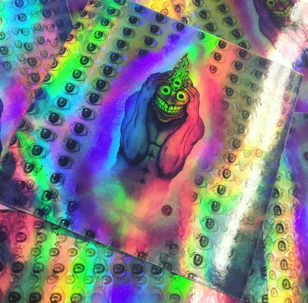 Image of Prying Open my 3rd Eye Holo Slappos