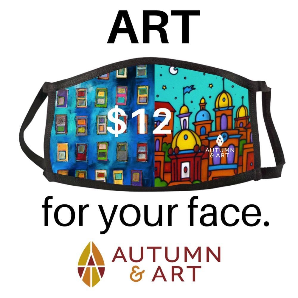 Image of Autumn & Art Mask