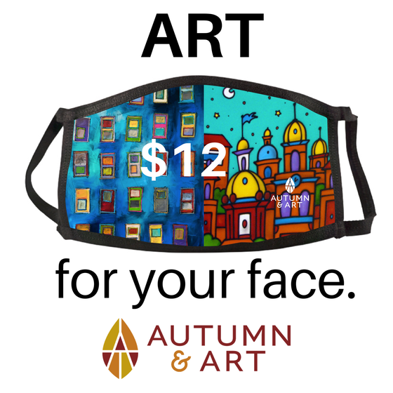 Image of Autumn & Art Mask