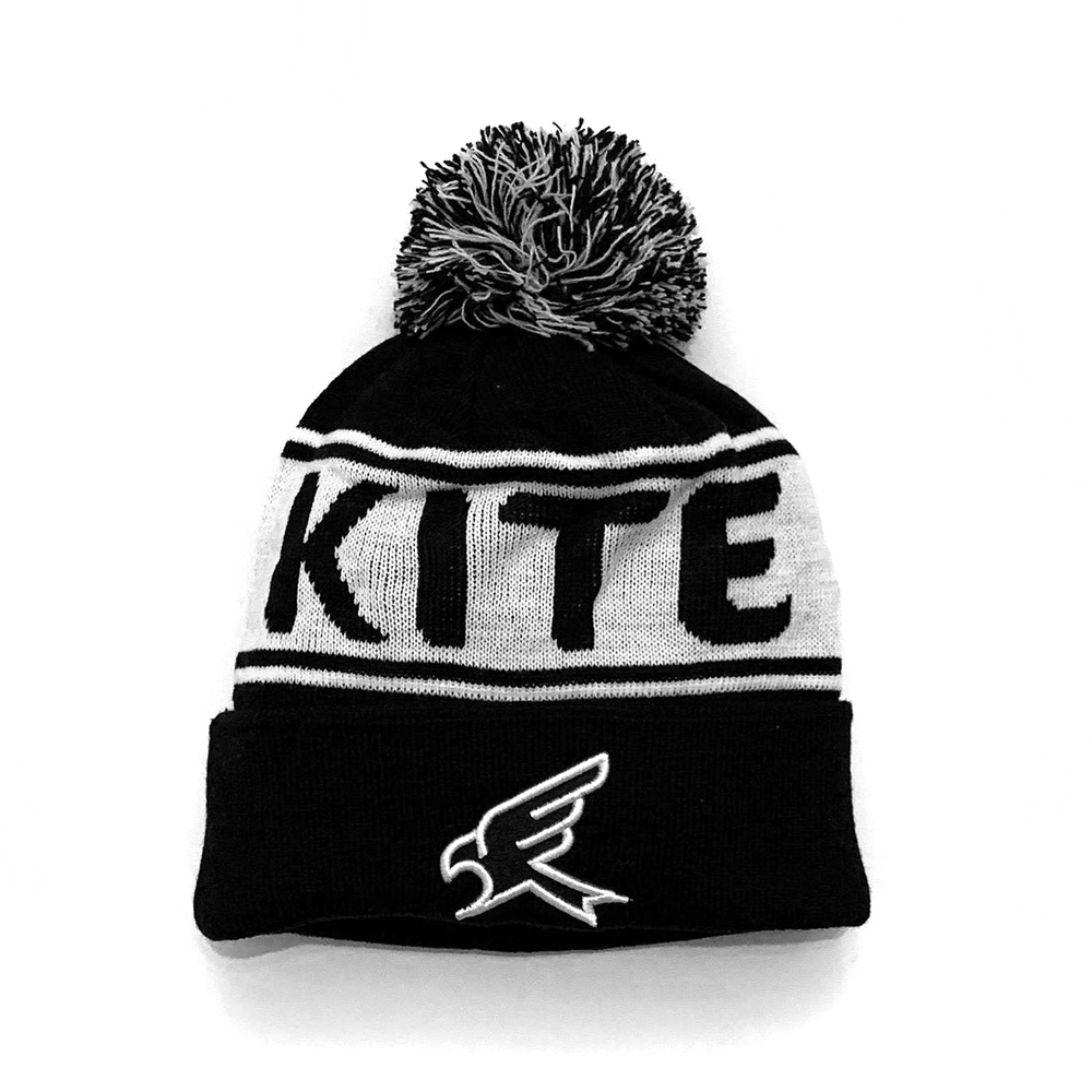 Image of KITE Bobble Hat with 3D embroidered logo
