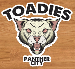 Image of Toadies - Panther City  sticker