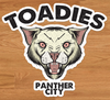 Toadies - Panther City  sticker