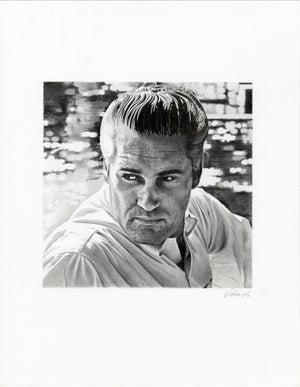 Image of CHARLIE RICH graphite original