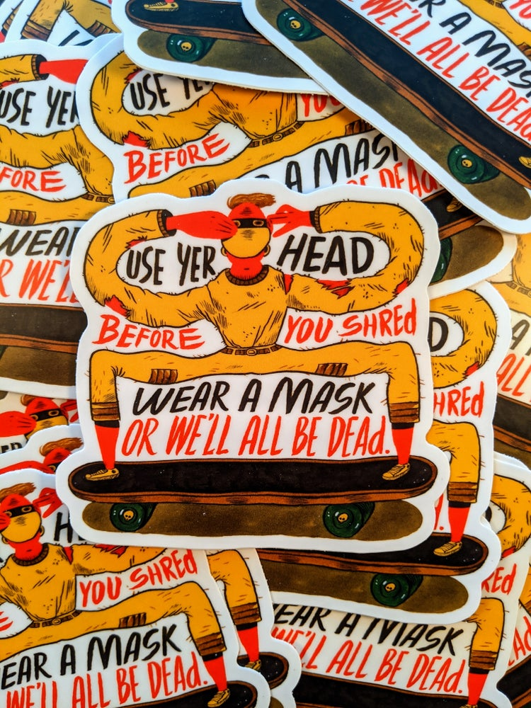 Image of Before You Shred Sticker.