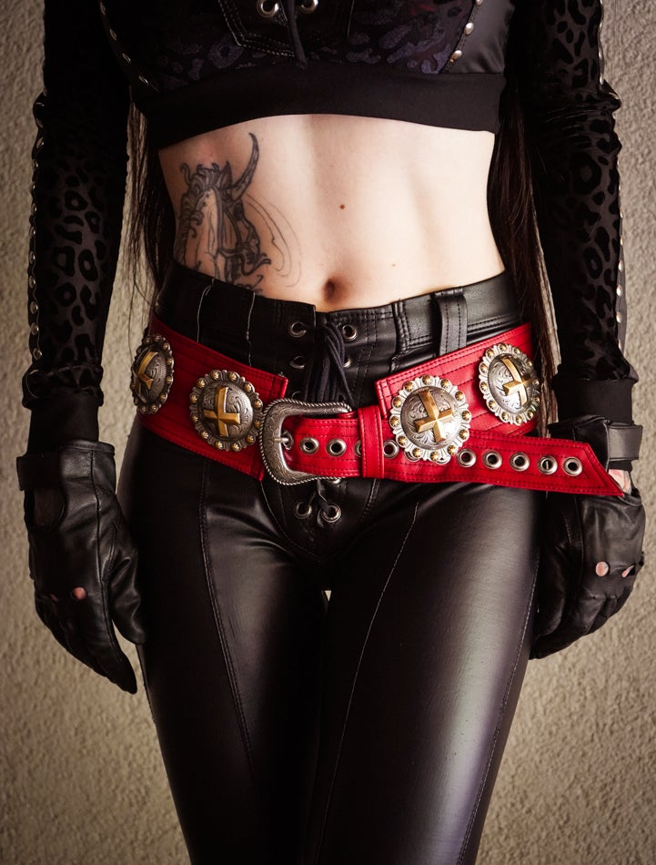Image of Unholy Bloodlust Belt ONLY 5 AVAILABLE