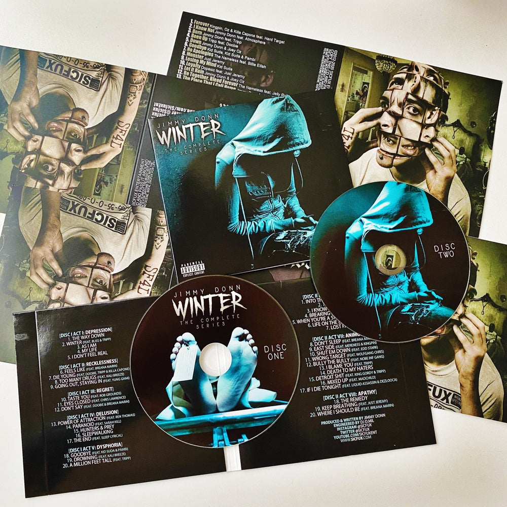 Image of Jimmy Donn Winter 2 Disc Set
