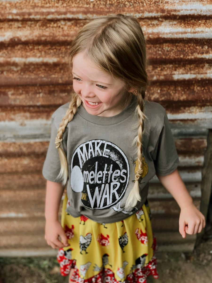 Image of Youth Make Omelettes, Not War Tee