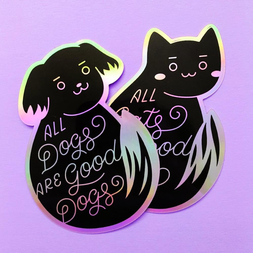 Image of Good Pets Sticker Set