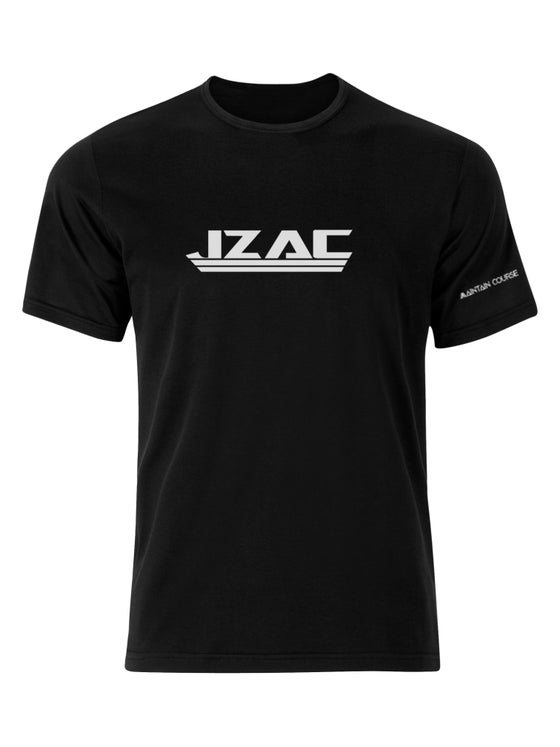 Image of JZAC Black T-Shirt - Maintain Course