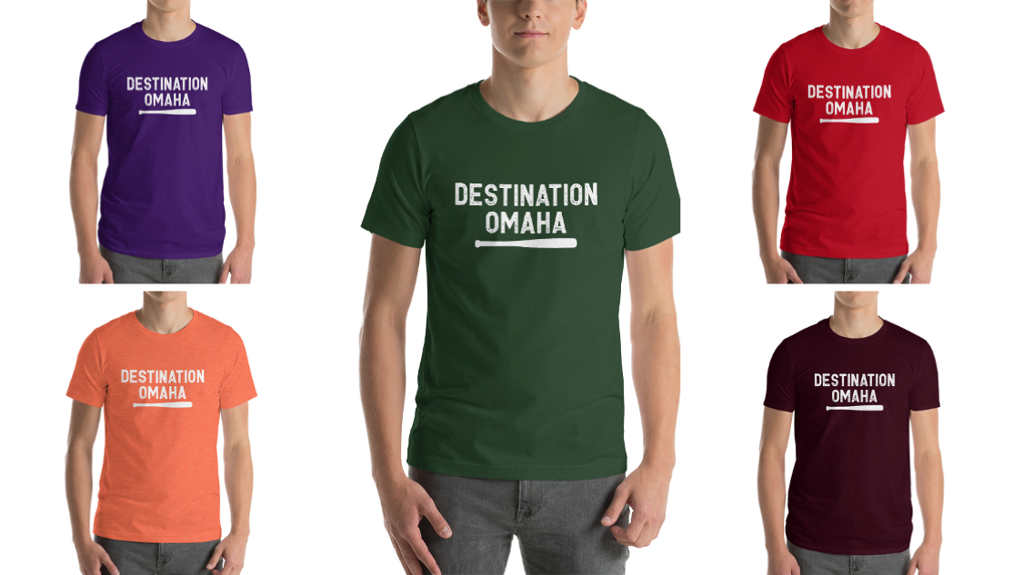 Image of Clean and Simple Destination Omaha Shirt