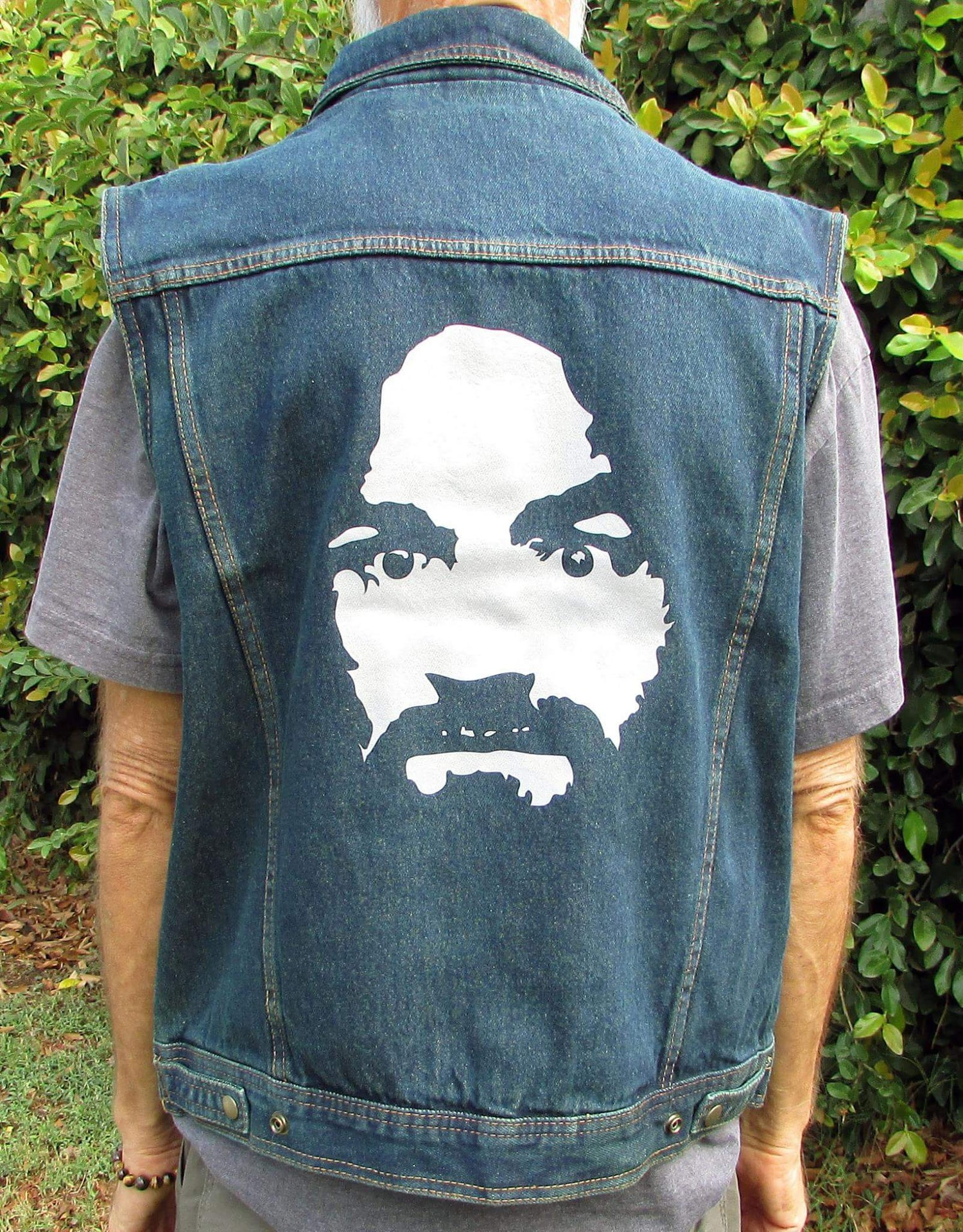 NIGHT RIDER BLUE DENIM VEST