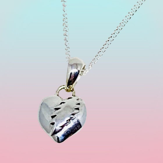 Image of NFA Heart/Bolt Pendant