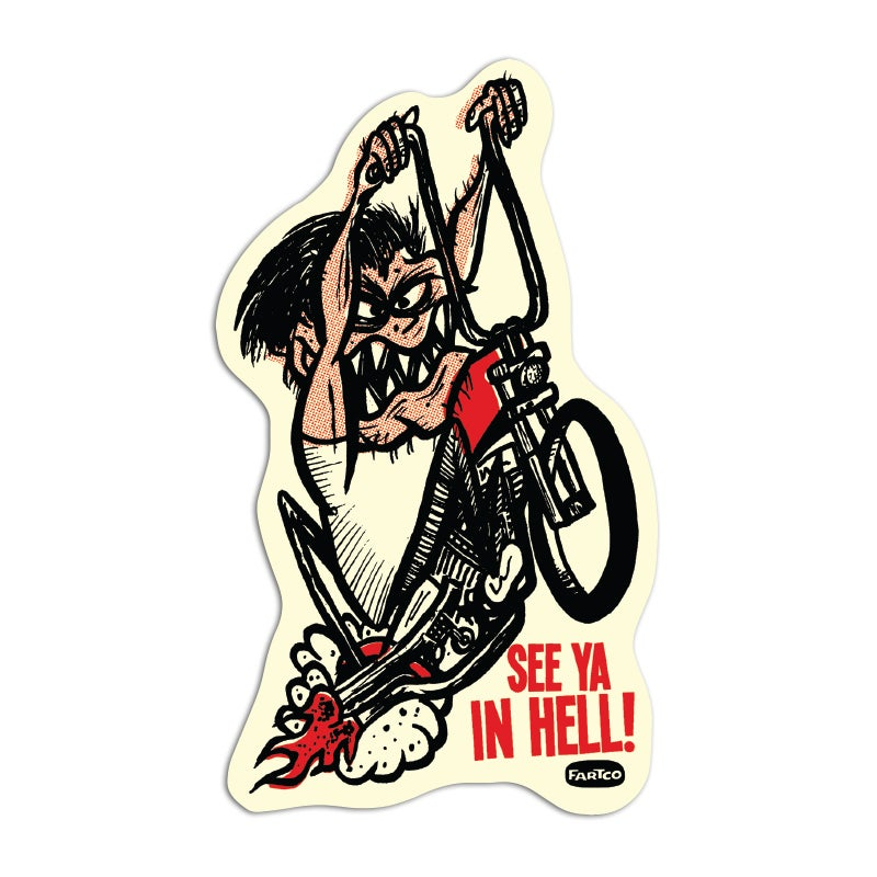 Image of See Ya In Hell Sticker