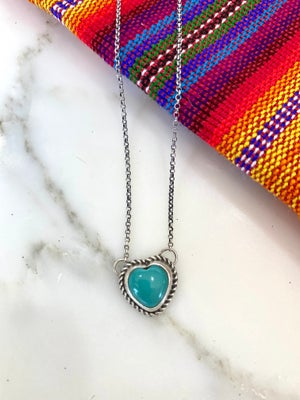Hearts in Turquoise
