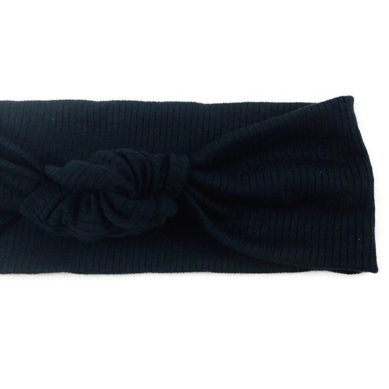 Image of Onyx Knotted Headband