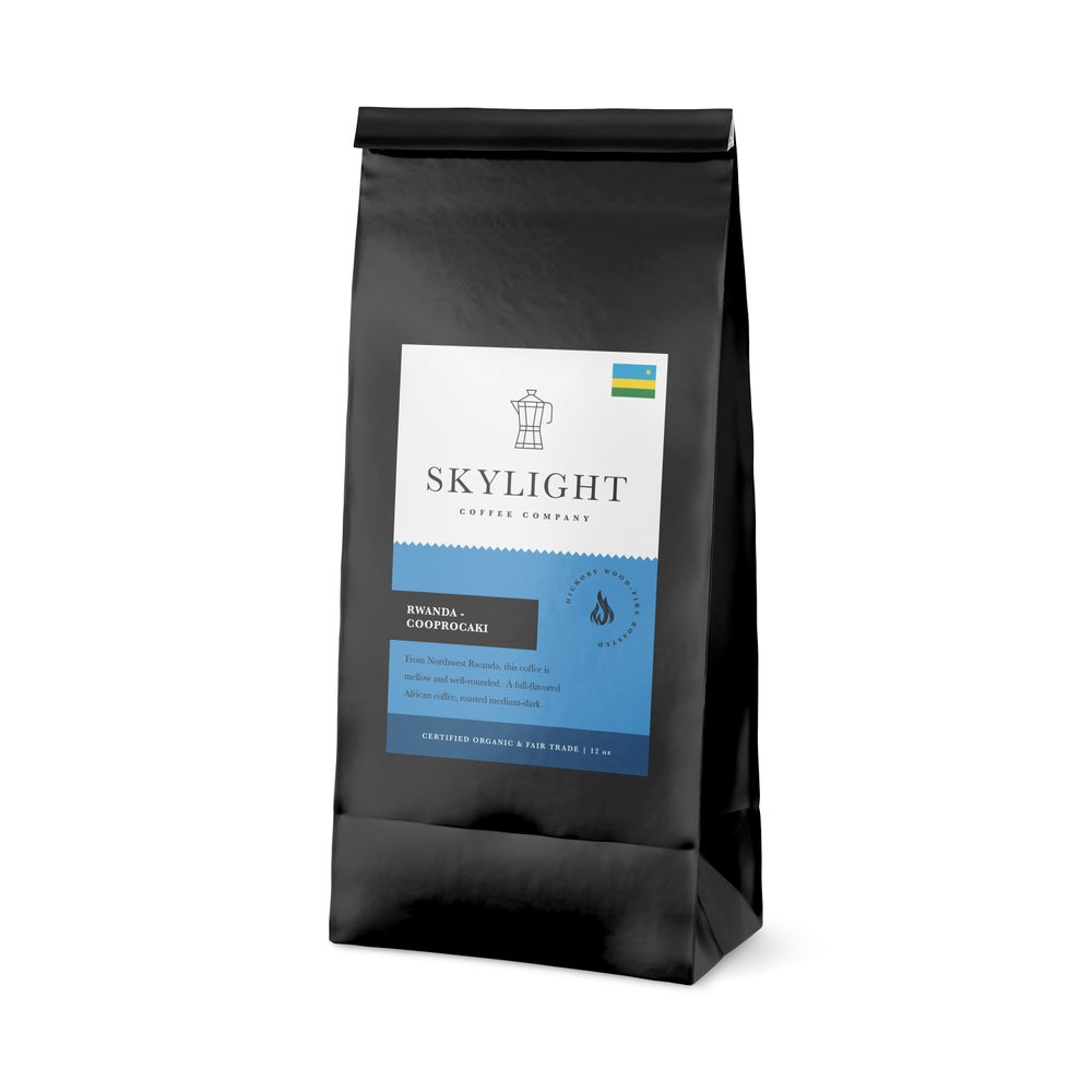 Image of - RWANDA - COOPROCAKI [Certified Organic, Fair Trade]