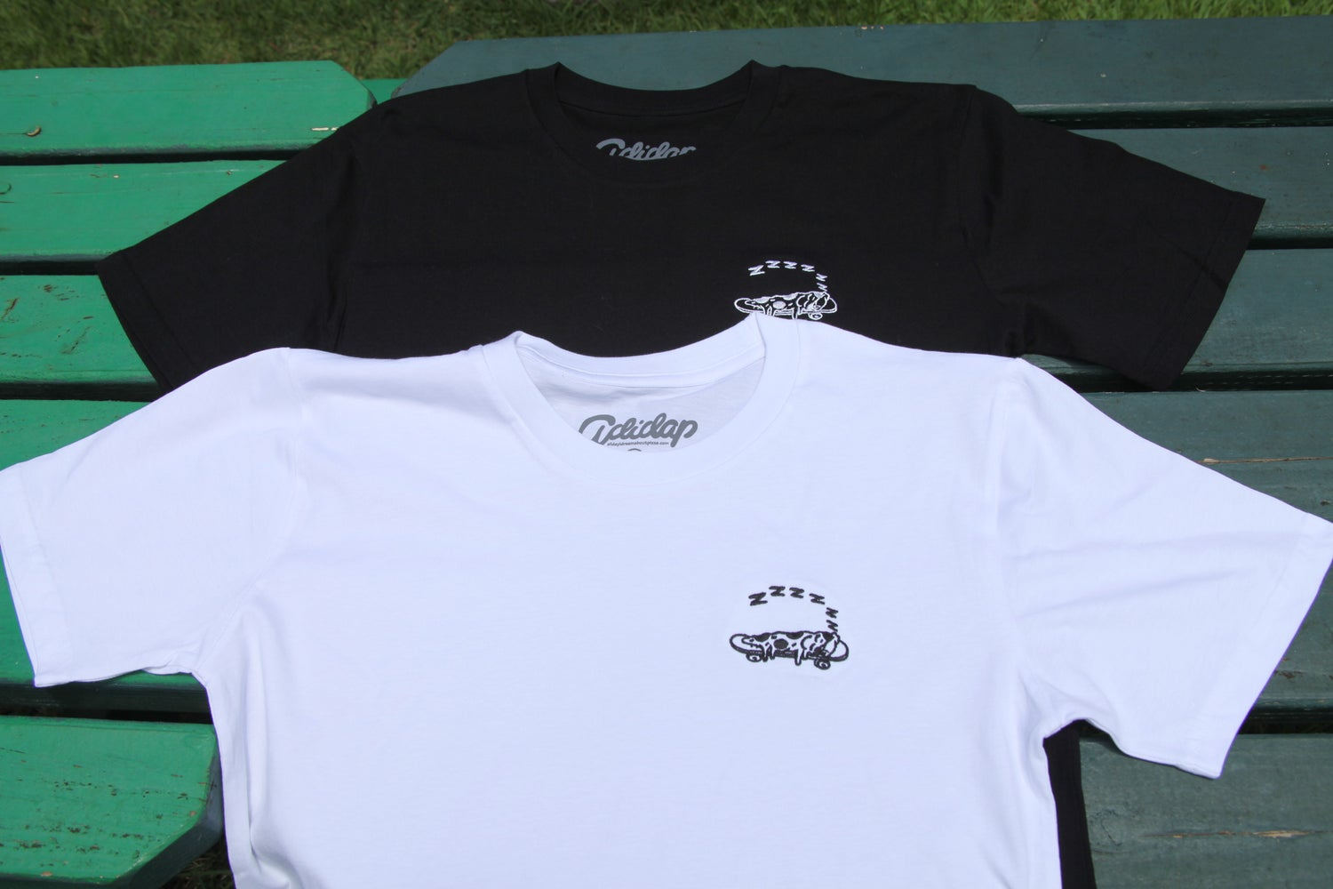 Image of Sleepy Embroidery T-shirt