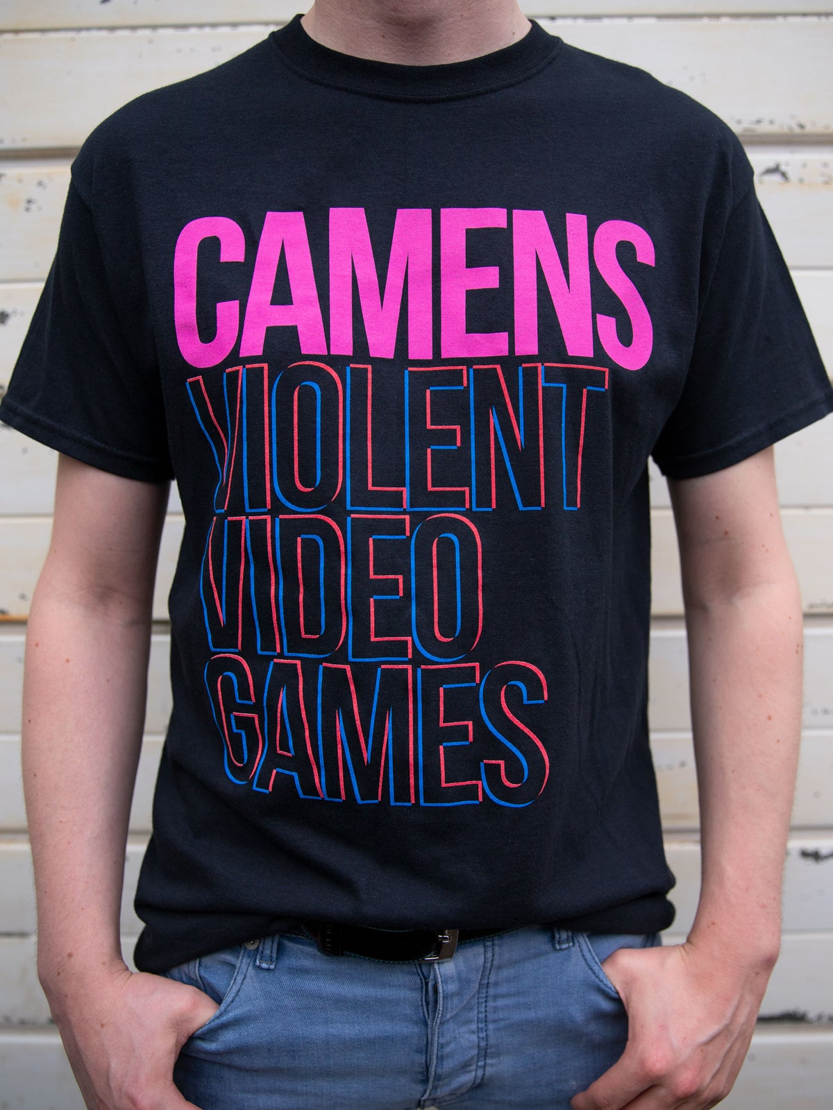 Image of CAMENS 'Violent Video Games' T-Shirt
