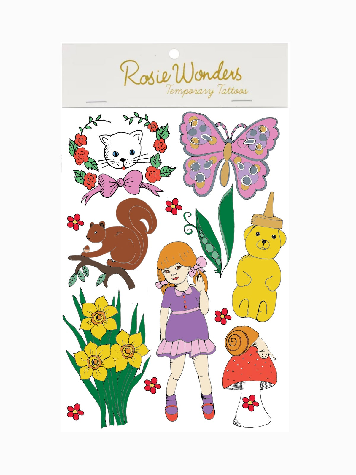 Dolly and Friends Temporary Tattoos