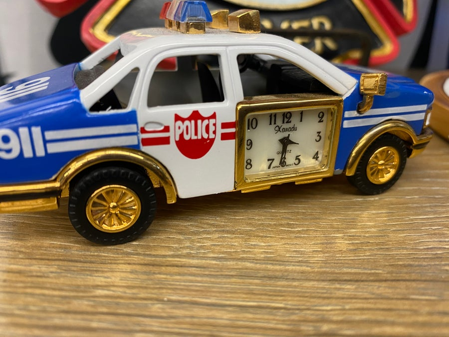 Image of Novelty Emergency Vehicle Clock