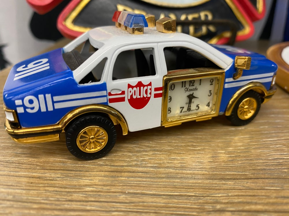Novelty Emergency Vehicle Clock