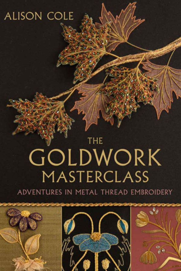 Image of Goldwork Masterclass by Alison Cole