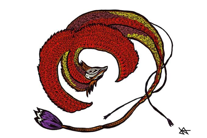 Image of Phoenix Print